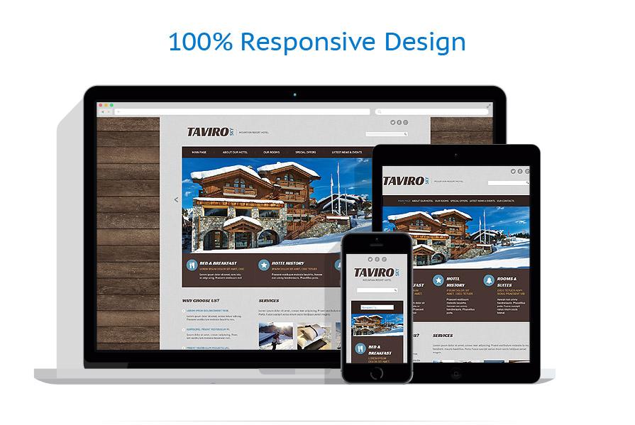 Modèles HTML5 Hôtels #53471