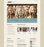 Art & Photography Website  Template 53473