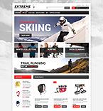 Sport ZenCart  Template 53474