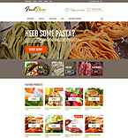Food & Drink ZenCart  Template 53476