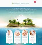 Medical Website  Template 53481
