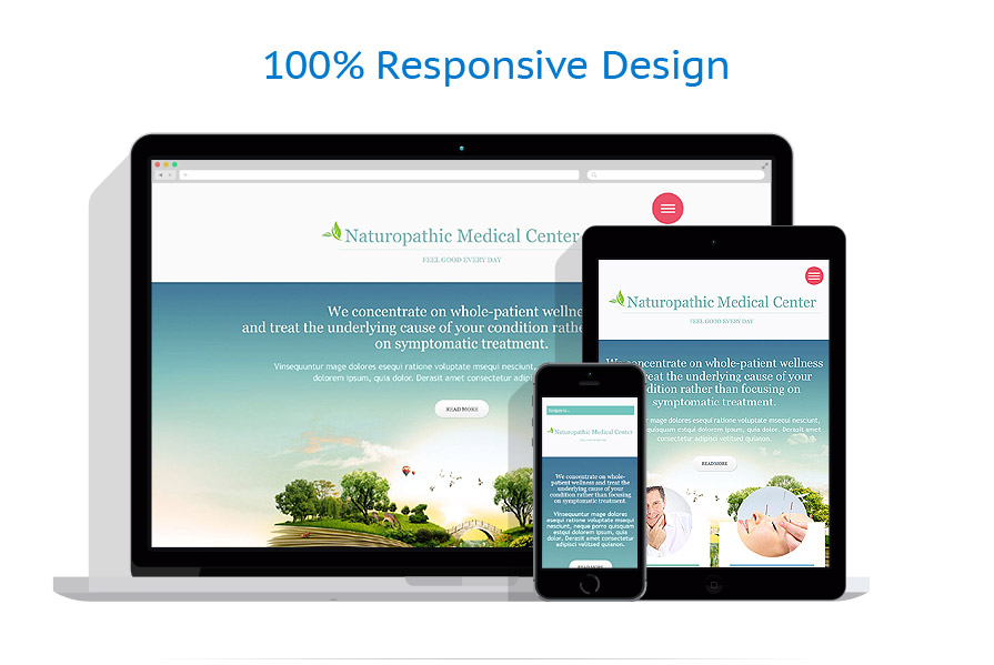 Modèles HTML5 Médical #53481