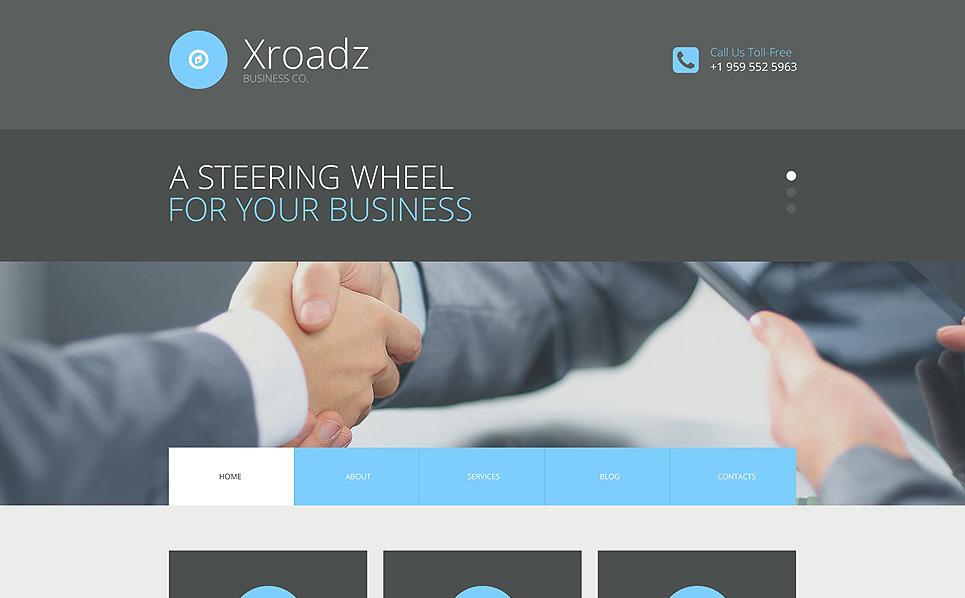 Responzivní WordPress motiv na téma Byznys a služby New Screenshots BIG