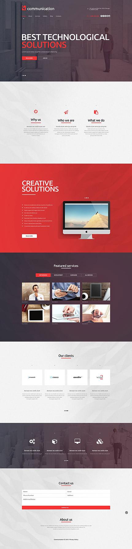 Website Template #53485