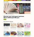 Books WordPress Template 53486
