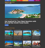 Travel WordPress Template 53489