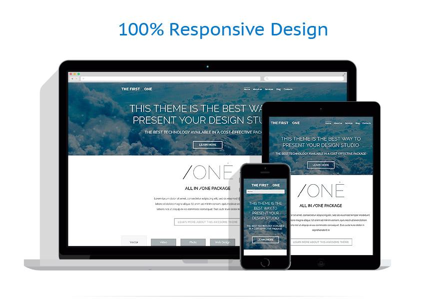 Thèmes WordPress Web design #53491