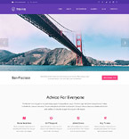 Travel WordPress Template 53493