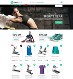 Sport WooCommerce Template 53495