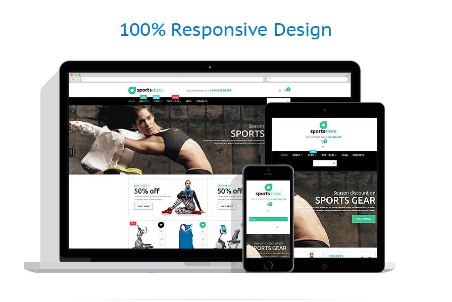 WooCommerce Themes Sport #53495