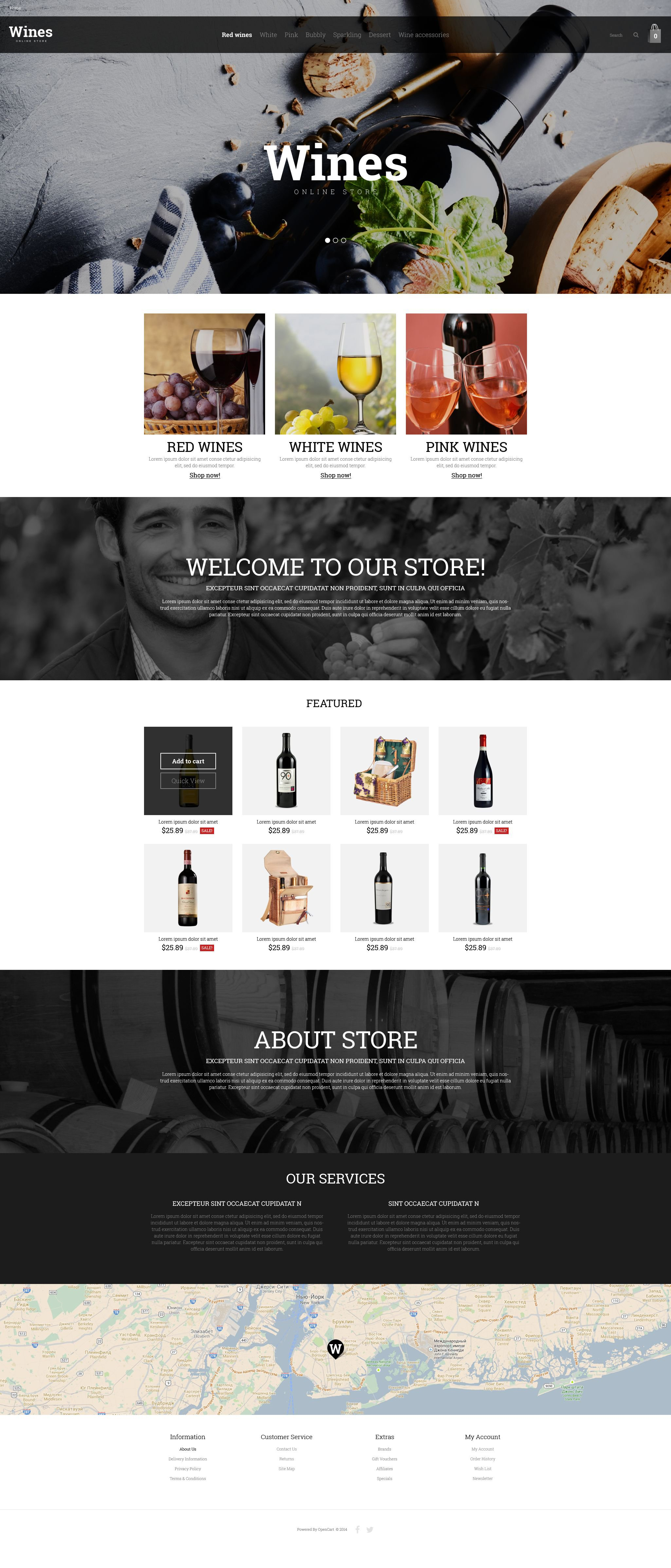 The Wine Store OpenCart Design 53499, one of the best OpenCart templates of its kind (food & drink, most popular), also known as wine store OpenCart template, production OpenCart template, grape OpenCart template, collection OpenCart template, red OpenCart template, white rose OpenCart template, bubbly OpenCart template, kosher OpenCart template, Champagne dry OpenCart template, traditions OpenCart template, cabernet OpenCart template, sauvignon OpenCart template, chardonnay OpenCart template, Muscat Pinot Noir bottles OpenCart template, cork OpenCart template, Bordeaux Bourgogne glass OpenCart template, taste restaurant OpenCart template, alcohol OpenCart template, bottle OpenCart template, celebration OpenCart template, barrels and related with wine store, production, grape, collection, red, white rose, bubbly, kosher, Champagne dry, traditions, cabernet, sauvignon, chardonnay, Muscat Pinot Noir bottles, cork, Bordeaux Bourgogne glass, taste restaurant, alcohol, bottle, celebration, barrels, etc.