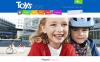 Адаптивный Shopify шаблон №53440 на тему детские игрушки New Screenshots BIG