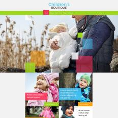 baby store website templates