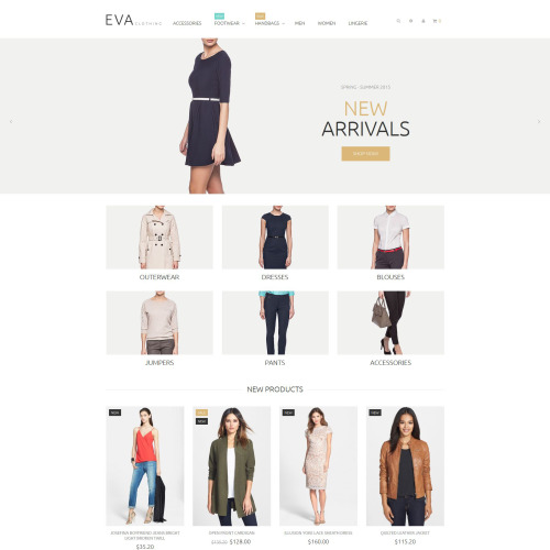 Eva - Magento Template based on Bootstrap
