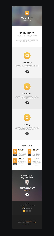 Designer Portfolio Responsive Newsletter Template New Screenshots BIG