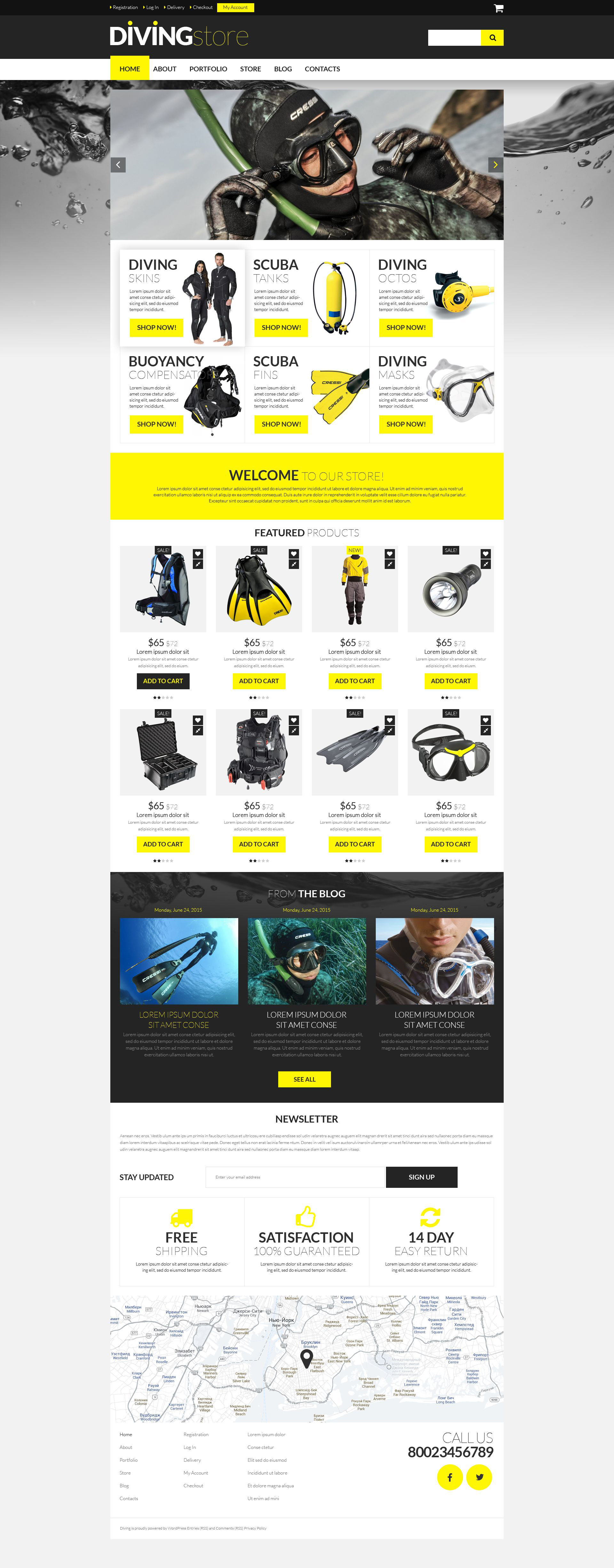 Diving Supplies Store №53437 - скриншот