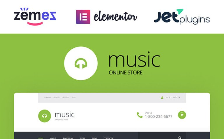 Exclusive Audio Collection WooCommerce Theme