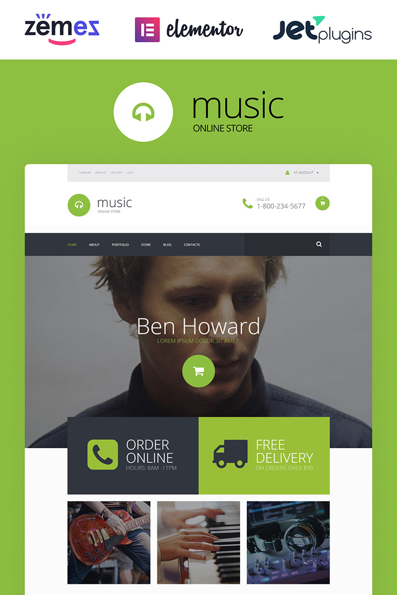 Exclusive Audio Collection WooCommerce Theme - screenshot