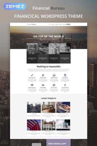 Financial Bureau - Finance Multipurpose Modern Elementor