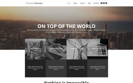 Financial Bureau - Finance Multipurpose Modern WordPress Elementor Theme WordPress Theme