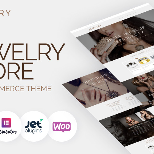 Jewelry  - WooCommerce Template based on Bootstrap