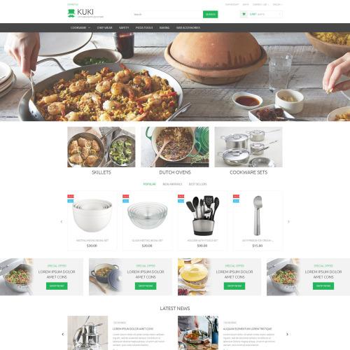 Kuki - PrestaShop Template based on Bootstrap