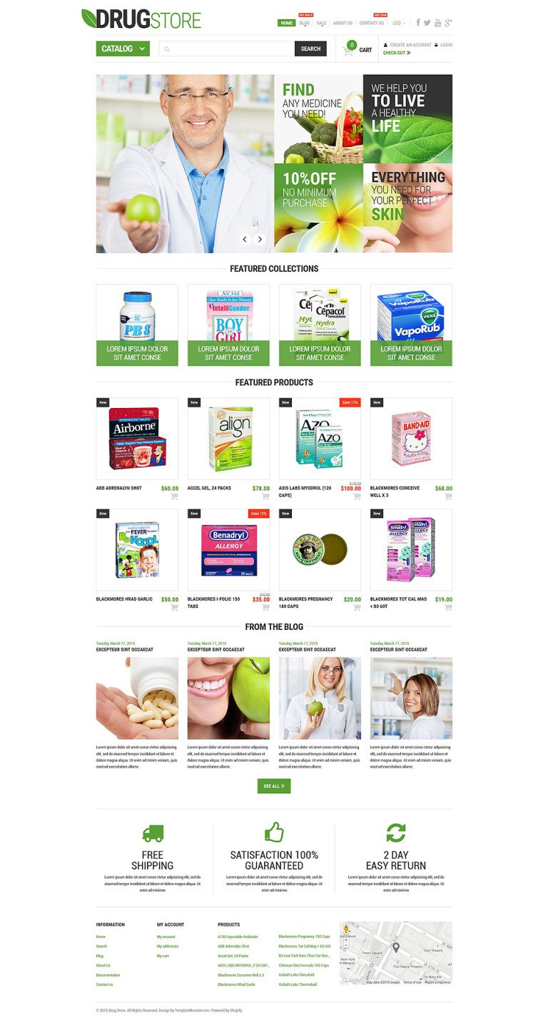 Pharmaceutical Business Shopify Theme New Screenshots BIG