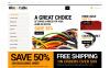 Plantilla OpenCart para Sitio de Tienda de Electrónica New Screenshots BIG