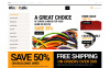 Responsive Cords and Wires Store Opencart Şablon New Screenshots BIG