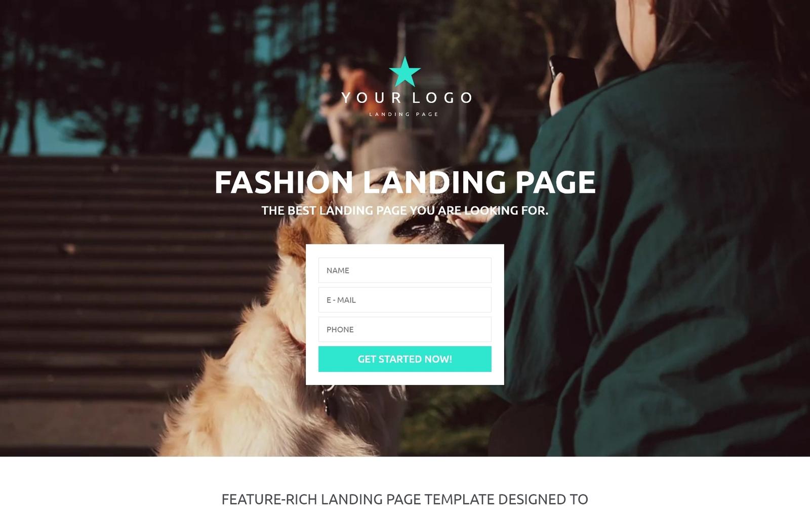Responsive Moda Açılış Sayfası #53430
