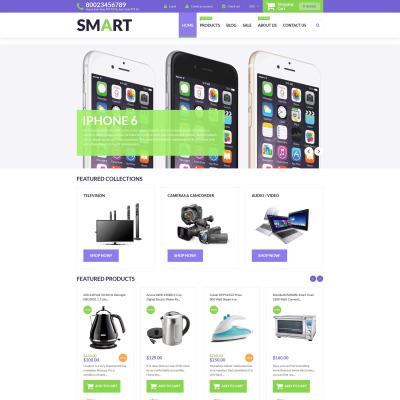 Electronics Store Responsive Shopify Teması