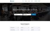 Reszponzív Lavoro - Jobs Portal Multipage HTML5 Weboldal sablon