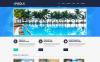 Reszponzív Úszómedencék témakörű  WordPress sablon New Screenshots BIG