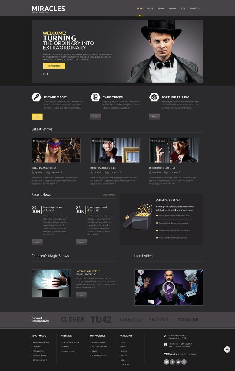 Slot Machines Responsive WordPress Theme New Screenshots BIG