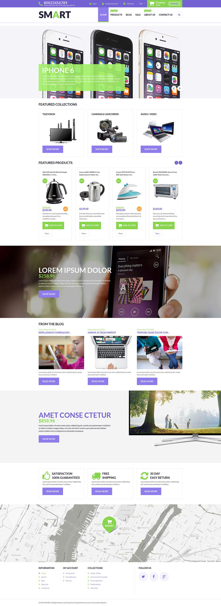 Smart Store Shopify Theme New Screenshots BIG