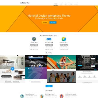Plantillas WordPress para Sitios de Estudios de Diseño