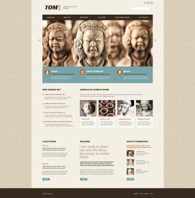 Sculpture Responsive Template Siti Web