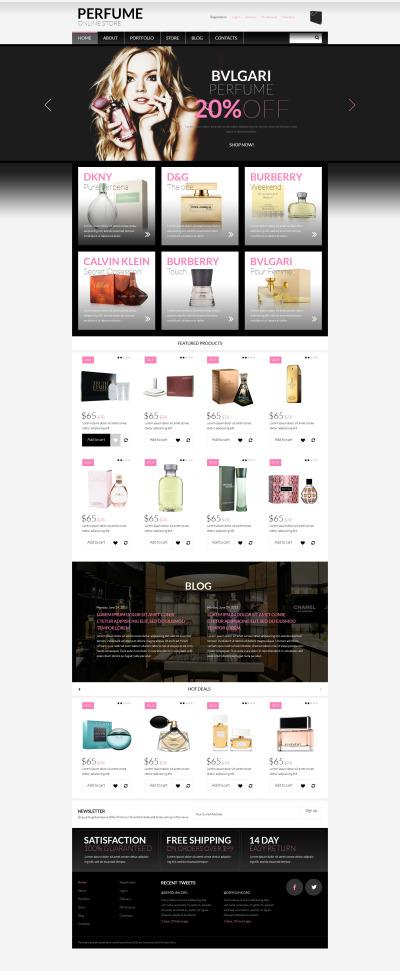 Thème WooCommerce adaptatif  pour boutique de cosmétique  #53420