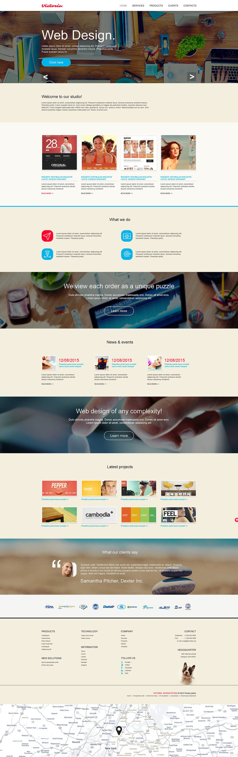 Web Design Muse Template New Screenshots BIG