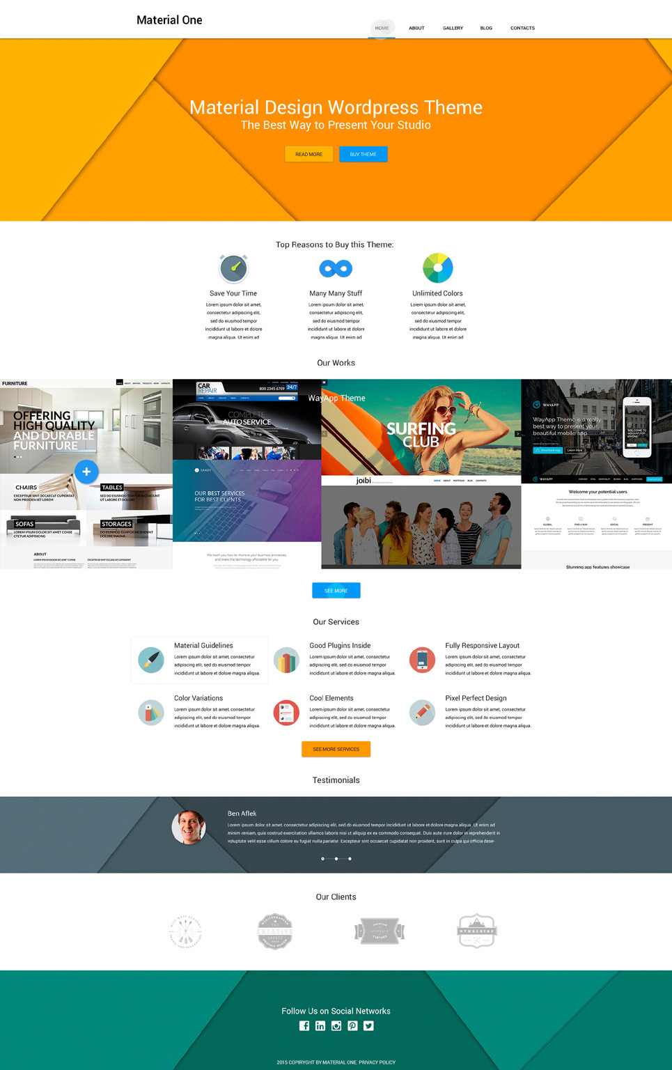 Web Design Storage WordPress Theme New Screenshots BIG