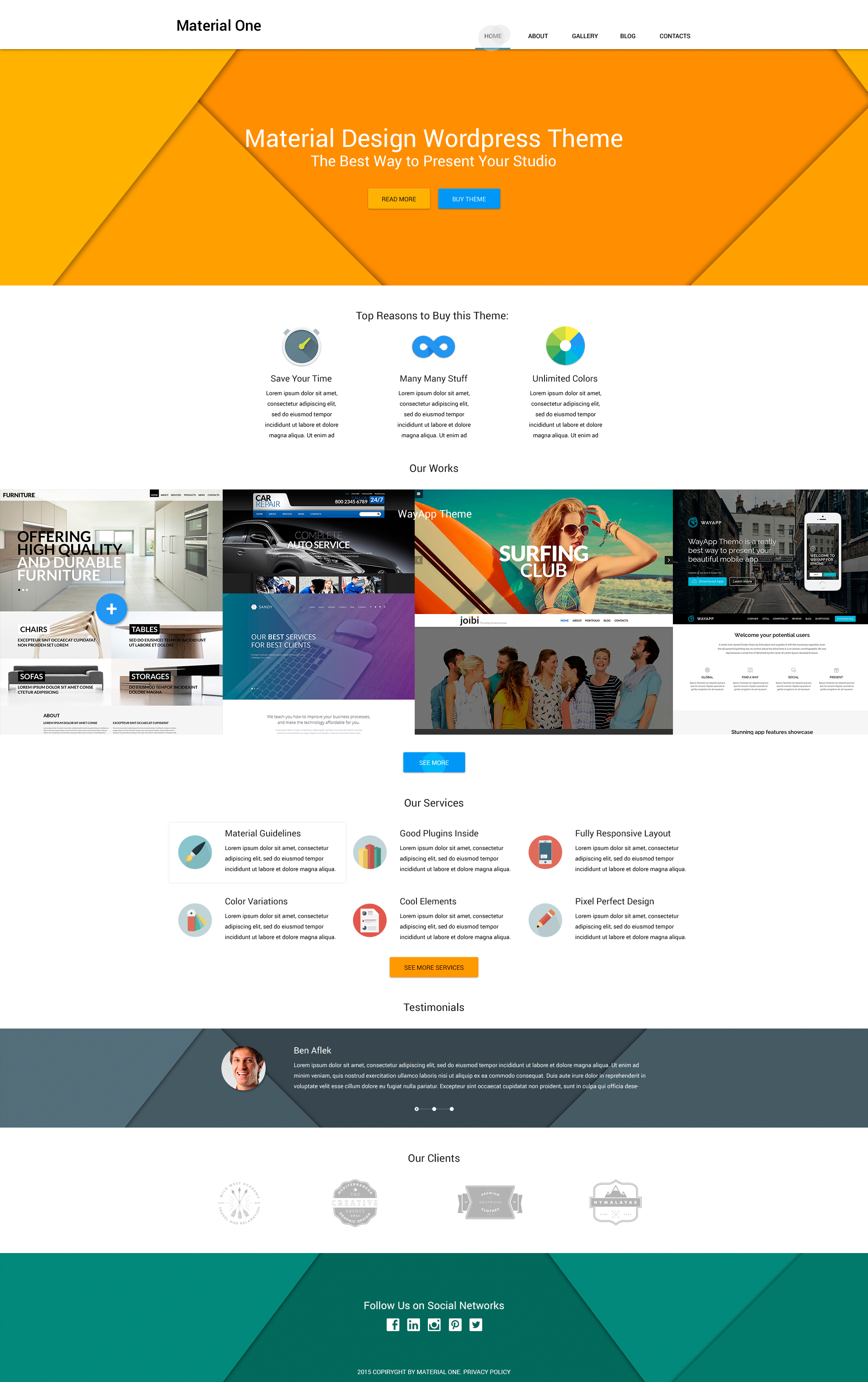 Web Design Storage WordPress Theme - screenshot
