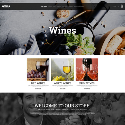 Wine list opencart template 41032 pronofoot35fo Gallery
