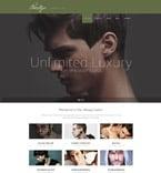 Beauty Website  Template 53501
