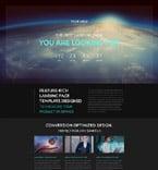 Communications Landing Page  Template 53502