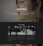 Beauty Website  Template 53507