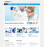 Science Moto CMS HTML  Template 53508