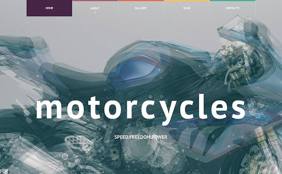 Premium Moto CMS HTML Template over Fietsenwinkel  New Screenshots BIG