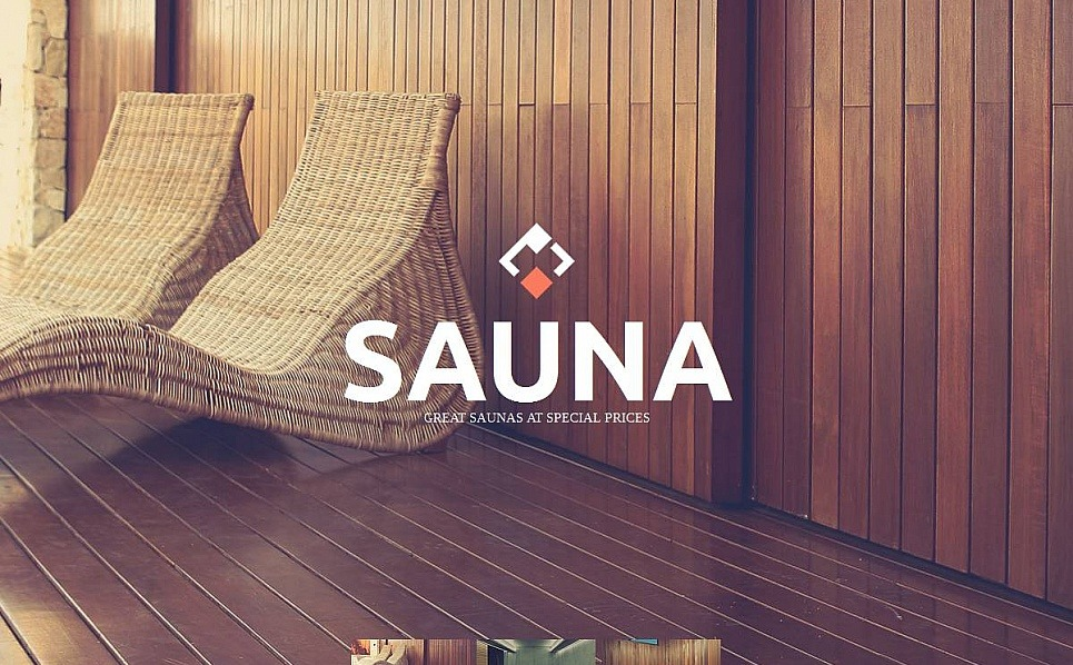 Premium Moto CMS HTML Template over Sauna  New Screenshots BIG