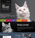 Animals & Pets Moto CMS HTML  Template 53517