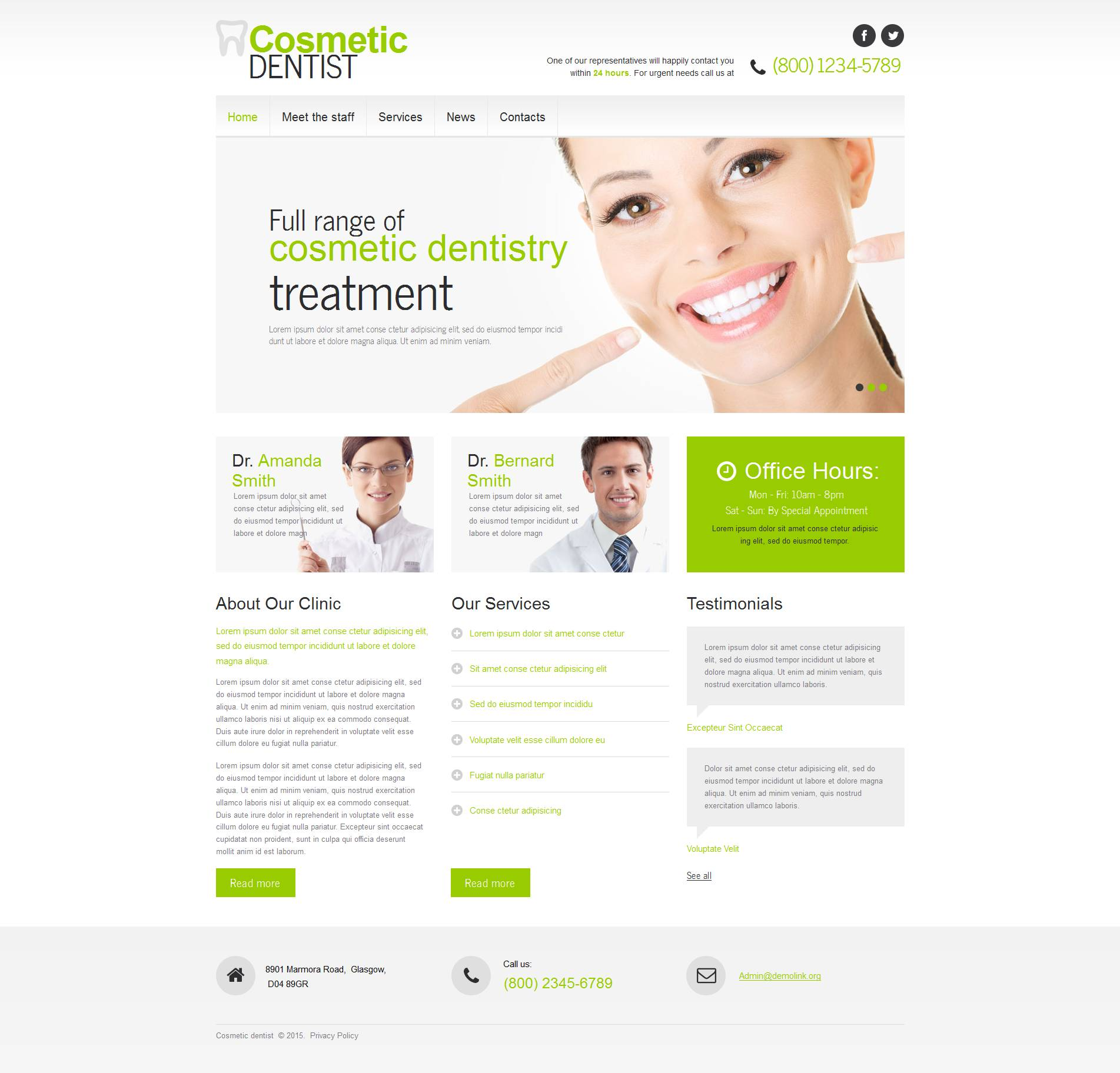 The Cosmetic Dentist Moto CMS HTML Design 53523, one of the best Moto CMS HTML templates of its kind (medical, most popular), also known as cosmetic dentist Moto CMS HTML template, teeth Moto CMS HTML template, policlinic Moto CMS HTML template, bright smile Moto CMS HTML template, doctor Moto CMS HTML template, services Moto CMS HTML template, dentistry Moto CMS HTML template, cosmetic care Moto CMS HTML template, health Moto CMS HTML template, prices Moto CMS HTML template, bleaching Moto CMS HTML template, prosthesis Moto CMS HTML template, crown of  tooth Moto CMS HTML template, implant Moto CMS HTML template, clients Moto CMS HTML template, testimonials Moto CMS HTML template, pain Moto CMS HTML template, painless Moto CMS HTML template, treatment solution Moto CMS HTML template, technology Moto CMS HTML template, dental Moto CMS HTML template, services Moto CMS HTML template, stopping Moto CMS HTML template, caries Moto CMS HTML template, parodontosis and related with cosmetic dentist, teeth, policlinic, bright smile, doctor, services, dentistry, cosmetic care, health, prices, bleaching, prosthesis, crown of  tooth, implant, clients, testimonials, pain, painless, treatment solution, technology, dental, services, stopping, caries, parodontosis, etc.